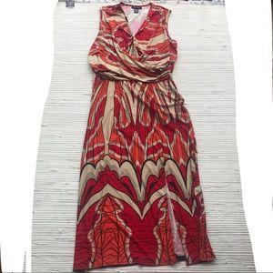 Ashley Stewart Maxi Dress 22/24 Woman 3X